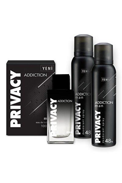 Addiction Edt 100 ml Erkek Pardüm + 2x150ml Deodorant 1742751043416
