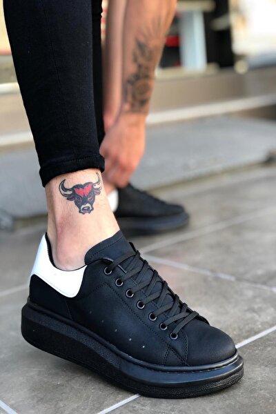 Siyah Beyaz St Sneaker