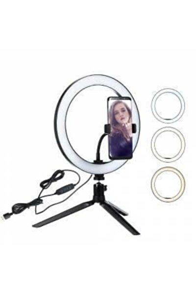 Makyaj Çekim Ring Light Selfie Işık Tripod Işık 16cm Stand