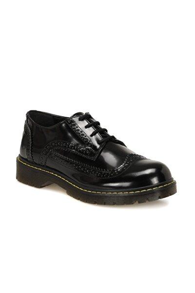 CW20079 Siyah Kadın Oxford Ayakkabı 100579311