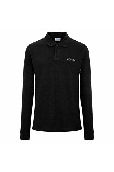 Erkek Siyah M Cascade Range Solid Ls Polo Yaka Sweatshirt Cs0099-010
