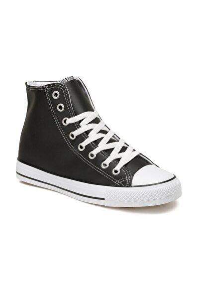 EC-2002 Siyah Erkek Kalın Tabanlı Sneaker 100668681