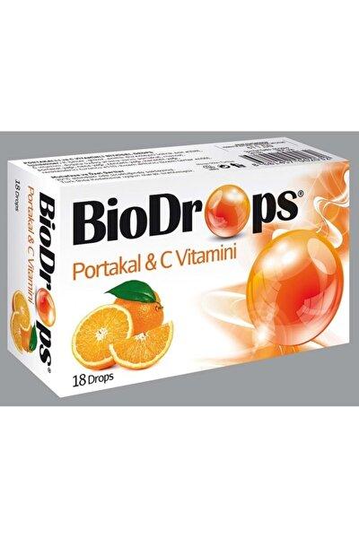 Portakal C Vitamini Pastıl 18 Drops