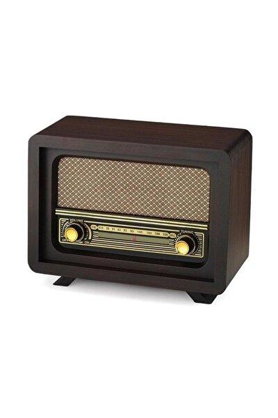 Yeni Sezon Nostaljik Ahşap Radyo Beyoğlu Model Retro Radyo