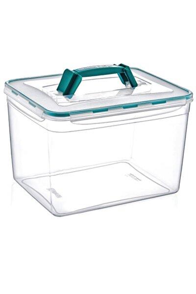 Saplı & Dev Fresh Box 11 Litre Hava Geçirmez & Sıvı Sızdırmaz Saklama Kabı Buzdolabı & Kiler Kutusu