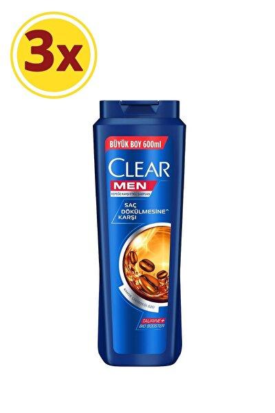 Men Saç Dökülmesine Karşı Şampuan 600ml X3