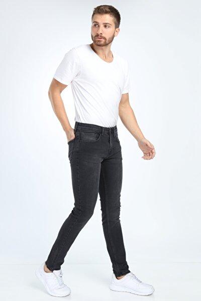 Erkek Siyah Black Jeans Kot Pantolon DANNY 096