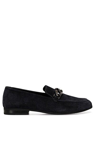 SEMLA Lacivert Kadın Loafer Ayakkabı 100582101