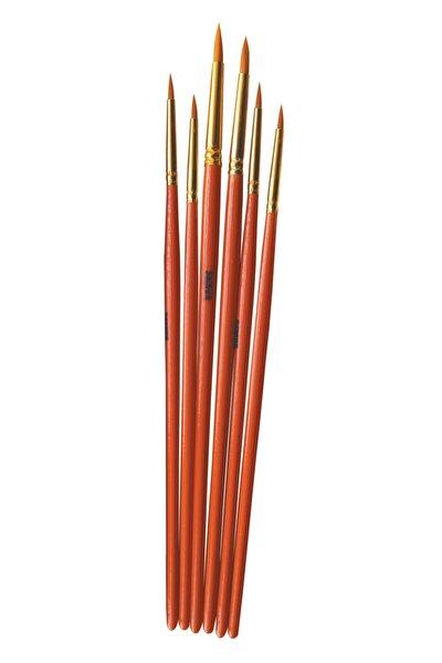 Eko 6'lı Sanatsal Sulu Boya Fırça Seti