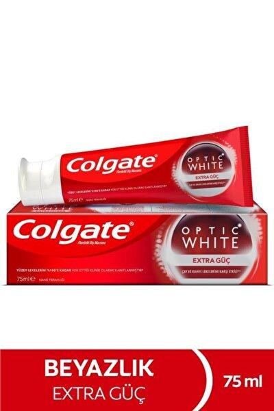 Optic White Extra Güç Çay Ve Kahve Lekelerine Karşı Etkili Beyazlatıcı Diş Macunu 75 ml