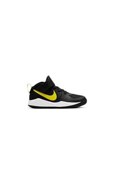 Team Hustle D 9 Gs Çocuk Siyah Basketbol Ayakkabısı Aq4224