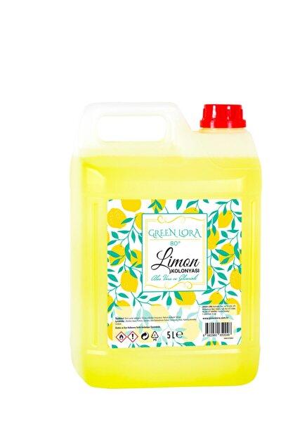 Limon Kolonyası 80° Aloe Vera Ve Gliserinli 5 Lt