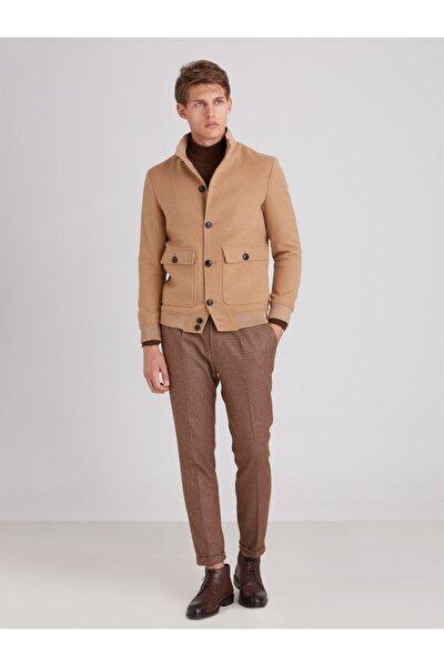 Camel Erkek Dış Giyim - Slim Fit