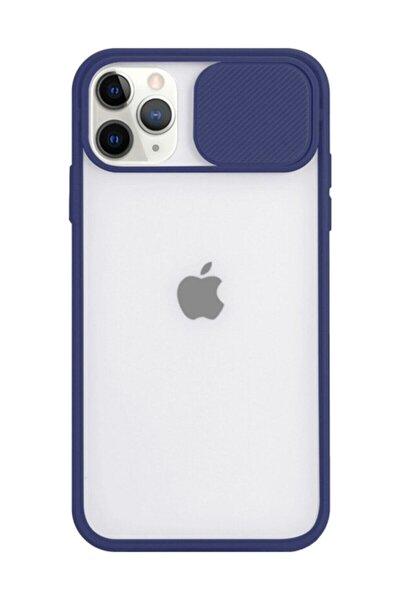 Iphone 12 Ve 12 Pro Uyumlu Slayt Lens Korumalı Darbeye Dayanıklı Silikon Arka Kapak