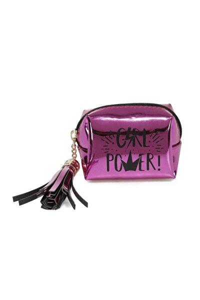 AYNALI GIRL POWER 1FX Fuşya Kadın Bozuk Para Cüzdanı 101011976