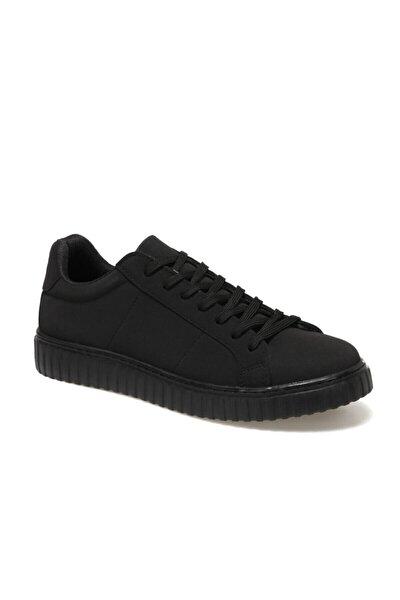 89407-B 1FX Siyah Erkek Kalın Tabanlı Sneaker 100909431