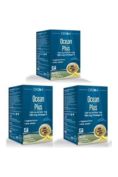 Plus 50 Kapsül Balık Yağı 3 Adet Skt: 04/2023