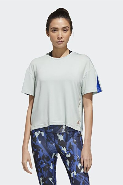 Kadın Beyaz Günlük Giyim T-shirt W U-4-u Tee Gg3419