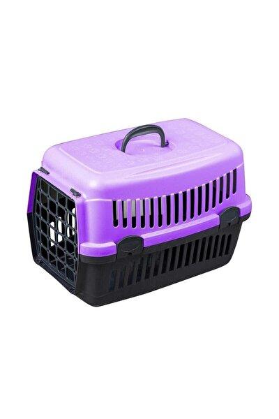 Mor Kedi Köpek Taşıma Çantası 50x34x33cm