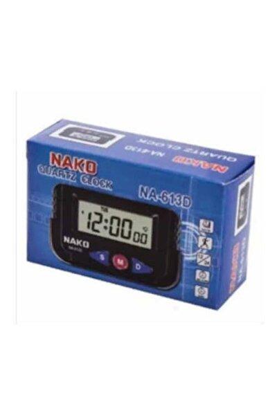 Mini Saat - Dijital Masa Saati - Araç Saati Alarm Kronometre - Mini Kenko