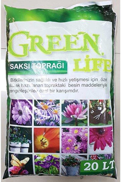 Humus Katkılı Harika Bitki Toprağı Çiçek Toprağı Torf 20 lt