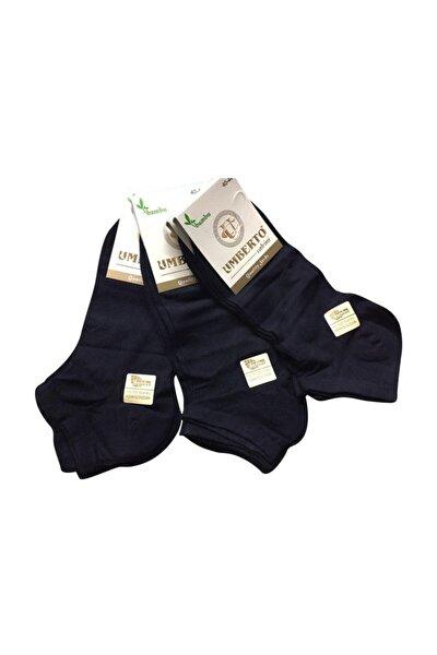 10'lu Siyah Bambu Patik Çorap Dikişsiz Ince Hafif Yazlık