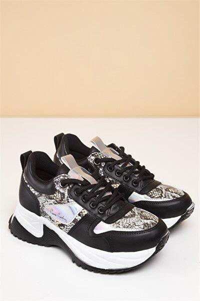 PC-30266 Siyah Kadın Spor Ayakkabı