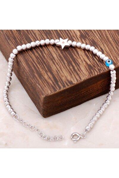 Kadın Dorissa Deniz Yıldızı Tasarımlı Gümüş Bileklik 2289