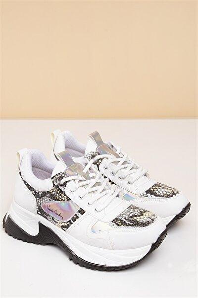 PC-30266 Beyaz Kadın Spor Ayakkabı