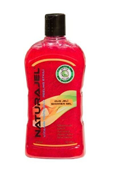 Peeling Etkili Vitamin Topçuklu Naturajel Duş Jeli 500ml.