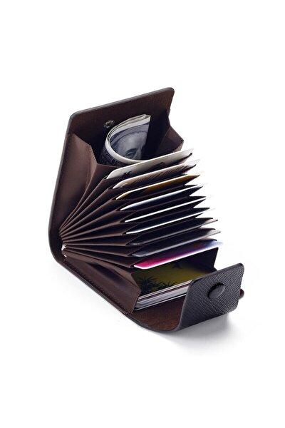 Mbl Unisex 11 Bölmeli Siyah Kredi Kartlık - Cüzdan
