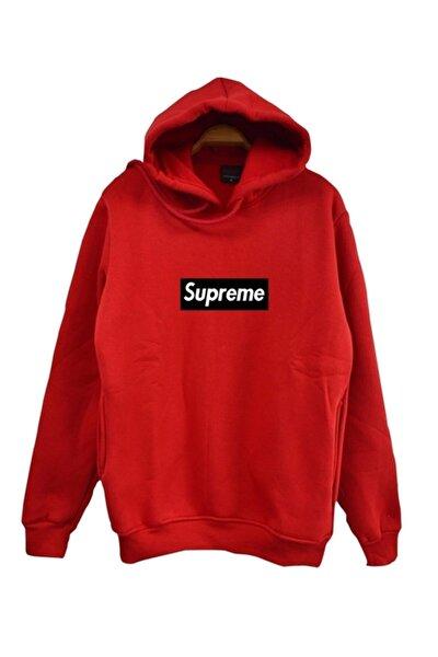 Supreme Baskılı Sweatshirt