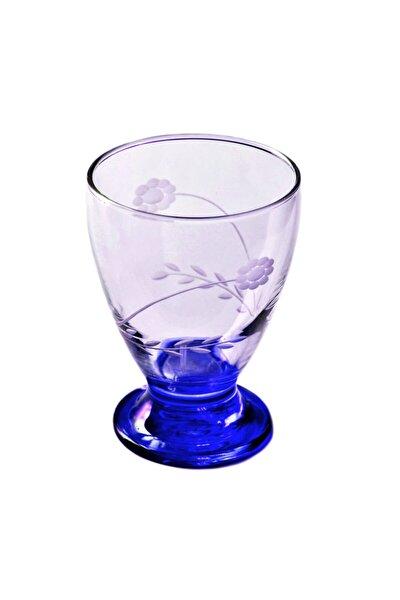 41011 Çın Çın 12 Adet (Mavi Papatya) Su-meşrubat Bardağı