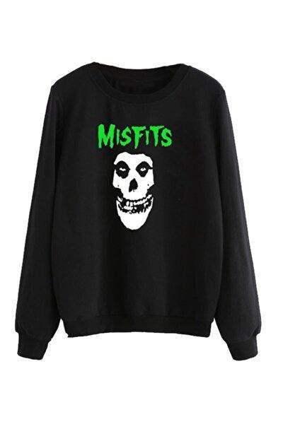 Mısfıts Baskılı Sweatshirt