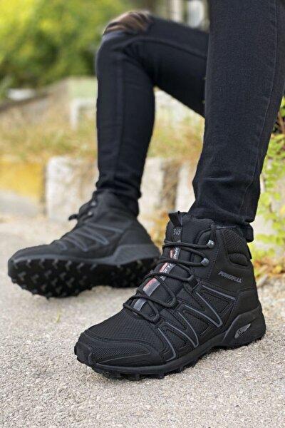 Siyah Unisex Outdoor Trekking Bot