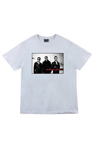 Depeche Mode Baskılı T-shirt