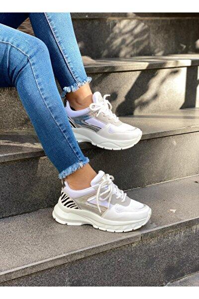 Mel Shoes Kadın Beyaz Sneaker Mel0002020-03