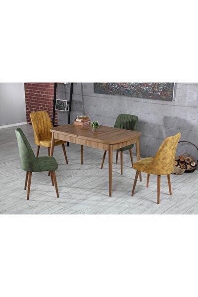 - Elit Lüks Sümela Açılabilir Mutfak Masası Ve Polo Sandalye Takımı