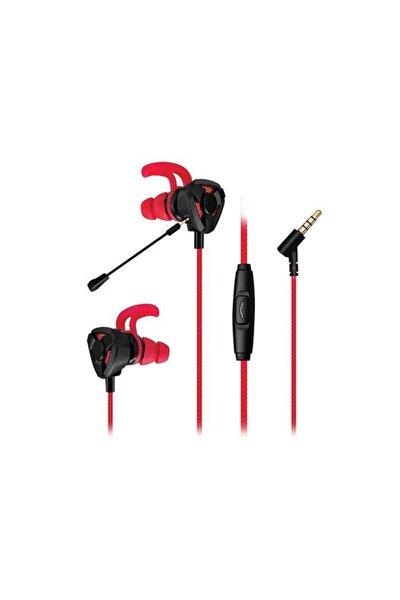 Sn-rx10 Orthus Siyah/kırmızı 3,5mm Esnek Mikrofonlu Kulaklık