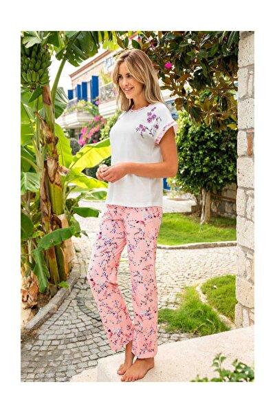 Kadın Pijama Takımı - Pembe