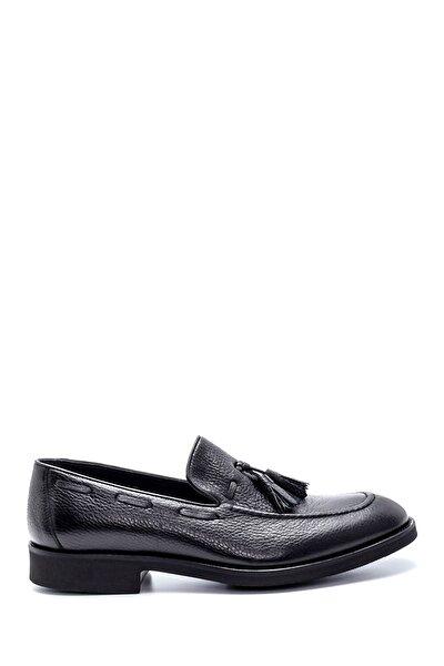 Erkek Deri Püskül Detaylı Ayakkabı