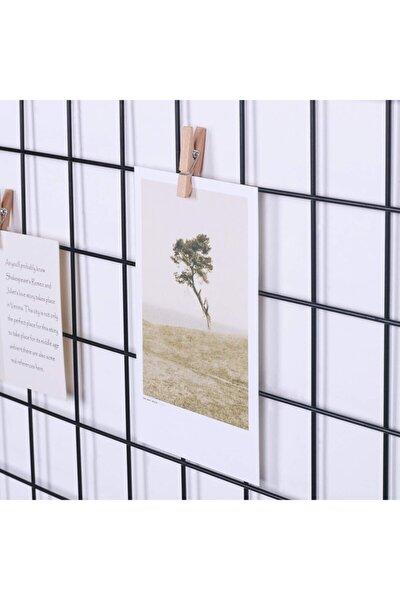 Tel Duvar Panosu Metal Pano Fotoğraf Çerçeve Askılık Notluk Anı Çerçevesi