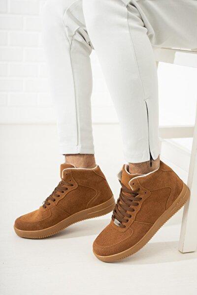 Unısex Kahverengi Sneaker Ayakkabı
