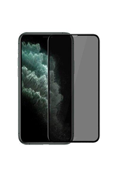 Iphone 11 Pro Uyumlu  Hayalet Ekran Privacy Görünmez Mat Tam Kaplayan Kırılmaz Cam