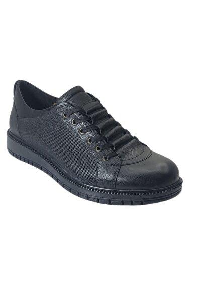Ekolim Erkek Siyah Hakiki Outdoor Ayakkabı