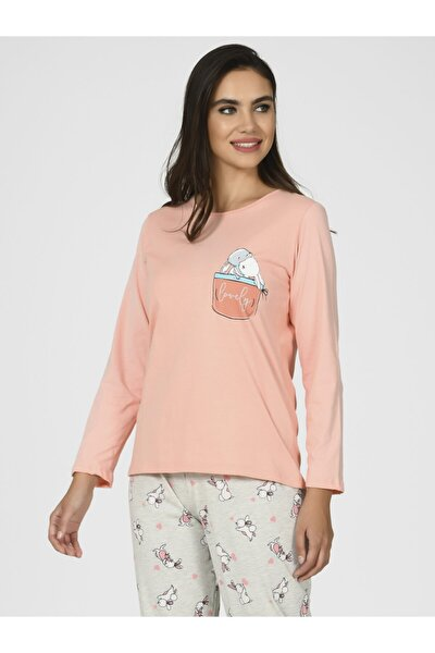 Tavşanlı Kadın Pijama Takımı 67096