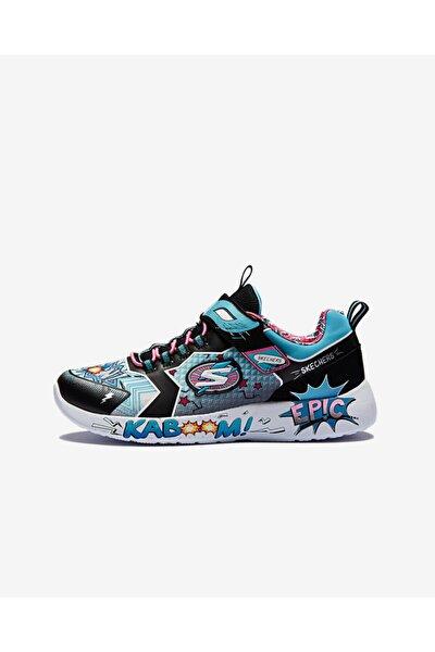 DYNAMIGHT - HERO STATUS Büyük Kız Çocuk Siyah Spor Ayakkabı