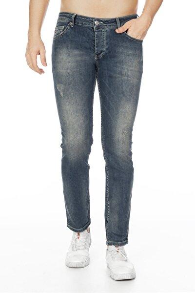 Erkek Kot Pantolon Slim Fit Jean - C300