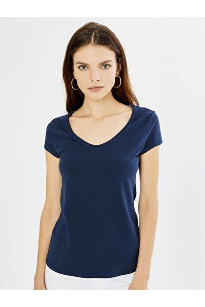 Kadın Lacivert T-shirt