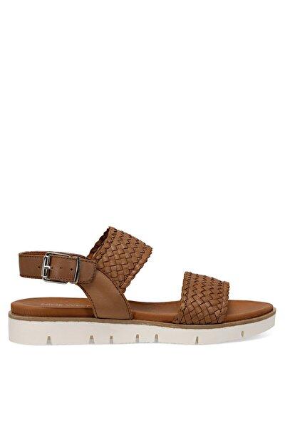 GOGH Taba Kadın Düz Sandalet 100526050
